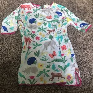 Mini boden girls dress 6-7Y